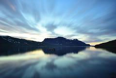 Mirror, Mirror (Ken Lee Photography) Tags: iceland djupavik feisol nikon westfjords ken lee nature water reflection sunset sunrise shutterbugpix long exposure longexposurephotography larga exposicion myrrs night sky ngc