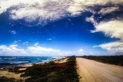Lighthouse Road (eduardo.rodriguez87) Tags: ifttt 500px beach clouds facebook plants rated showcase sky vacation water blue bsand canon cscenic lighthouse ocean rocks seascape travel waves quintanaroo mexico mx