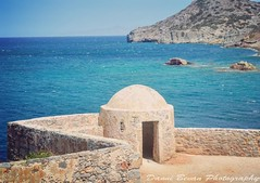 One of the old look outs on Spinalonga (dannibevan18) Tags: landcsape bluesea bluesky history lookout old sunny photography nikon greece crete instagramapp square squareformat iphoneography sierra