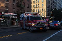 FDNY EMS Rescue Medics Ambulance 057 (Triborough) Tags: ny nyc newyork newyorkcity newyorkcounty manhattan greenwichvillage eastvillage fdny newyorkcityfiredepartment ems fdnyems firetruck fireengine ambulance rescuemedics international terrastar wheeledcoach