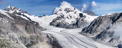 Panoramica (sudaro.stefano) Tags: svizzera montagna neve cielo ghiacciaio grande europa jungfrau jungfraujoch mnch trugberg eiger walcherhotn groseraletschgletscher