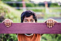 Shy Uncertainty (sav.here) Tags: portrait shy kid