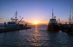 West Coast Sunset (Clayton Perry Photoworks) Tags: richmond bc canada summer steveston vancouver explorebc explorecanada outdoors seaside waterfront boat fishing sunset