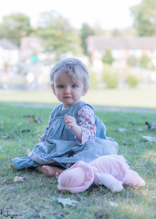 Ruby in the Park (Wayne Cappleman (Haywain Photography)) Tags: wayne cappleman haywain photography farnborough hampshire king george v fifth playing fields park baby portrait child