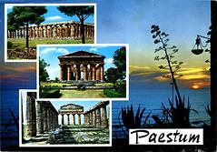 postcard - from sarahamina, Austria (Jassy-50) Tags: postcard postcrossing multiview italy unescoworldheritagesite unescoworldheritage unesco worldheritagesite worldheritage whs archaeology archeology temple ruin greek greektemple