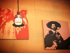 La Adelita y su compa... (Marcia Portess-Thanks for a million+ views.) Tags: laadelitaysucompa laadelita marciaaportess marciaportess map mexico puertovallartajalisco iconic paintings revolucionmexicana mexicanrevolution