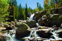 TJ__9863 (shutterviews) Tags: waterfall nationalpark rockymountains rockymountainnationalpark colorado estespark coloradophotographer coloradophotography hiking trail hikingtrail dayhike