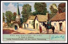 Liebig Tradecard S1318 - Killarney (cigcardpix) Tags: tradecards advertising ephemera vintage liebig ireland