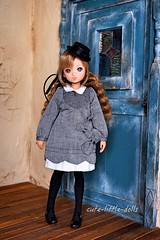 """Hello"" :"") (cute-little-dolls) Tags: ruruko rurukodoll doll petworks ae aline ribbon hat kawaii toy"