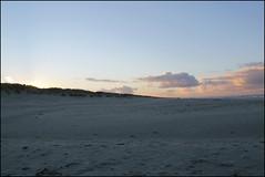 empty (Elly Snel) Tags: ameland island nl sunset zonsondergang blue blauw strand beach