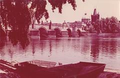 Ansichtkaart Praha Vitava Charles Bridge (dickjan thuis) Tags: ansichtkaart praha vitava charles bridge charlesbridge