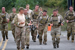 106th Rescue Wing Participates in 5k SARC Run (New York National Guard) Tags: usaf ang air national guard force united states rescue 106th 106 106rqw wing squadron pararescue pj combat westhamptonbeach newyork unitedstates