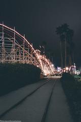 20160815_213438 (Welcome to the Sanitarium) Tags: santa cruz nocal northern california beach boardwalk amusement park roller coaster travel night lights