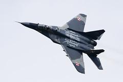 Mikoyan-Gurevich MiG-29A - 8 (NickJ 1972) Tags: raf fairford riat royalinternationalairtattoo airshow 2016 aviation mikoyan gurevich mig29 fulcrum 108