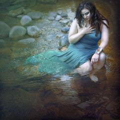 'Past' (Natasha Root Photography) Tags: natasha root photography imagine create inspire imagination past memory remember painterly likeapainting dress water stream life square flow