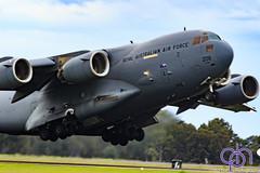 RAAF C-17 Globemaster III DEPARTS RAAF AMBERLEY-3187 (Craig Hall Photography) Tags: raaf adf 36sqn c17 c17a globemasteriii boeing transport heavy aviation aircraft craighall aviationjet military