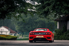 This>458 Speciale (Sathya Melvani) Tags: ferrari 360 challenge stradale singapore red rosso cs