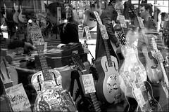 Wunjo window - DSCF7829a (normko) Tags: london west end guitar shop music dobro wunjo reflection window denmark street