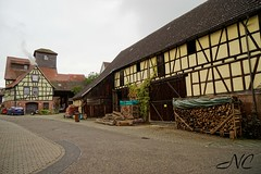 Old farm house (Nancleve) Tags: germany rothenburg vacation walls walledcity halftimbered houses buildings gates