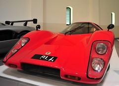 McLaren M6 GTR 1971 (D70) Tags: franschhoek motor museum mclaren m6 gtr 1971 ohv v8 chevrolet engine 370 bhp 5800 rpm 5 spd 290 kmh or 180 mph httpsyoutube5wvl02bjihy