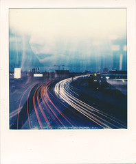 The Ghost of Mi (Ray Liu (Photographer)) Tags: lighttrails doubleexposure lightcrawler roidweek polaroidweek polaroid lightpainting instantphotography