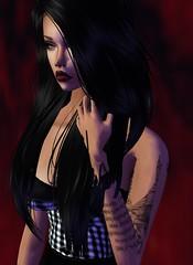 Snap_7Bytd3Lc131464589561 (VxSuicideGirls) Tags: suicidegirls model geek tattoo fashion imvu roleplay selfie digitalart 3dart deviantart cosplay anime gamer gamergirl suicidesquad artwork