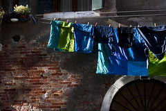 di blu, di verdi e mattoni (fratella) Tags: venice venezia venise venedig
