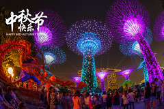 MID-AUTUMN FESTIVAL 2016 (spintheday) Tags: midautumnfestival singapore marinabaysands gardensbythebay lanternfestival light family supertrees music gathering holiday travel entertainment