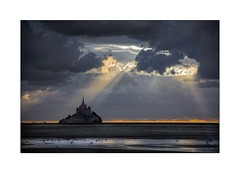 Secrete Alliance (Marie 35 (140)) Tags: baiedumontstmichel bascourtils bassenormandie coucherdesoleil