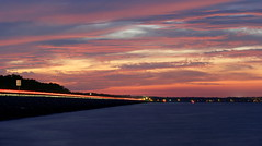 Slow Down For Sunsets (VarietyHour) Tags: outdoor sky cloud sunset dusk landscape dam