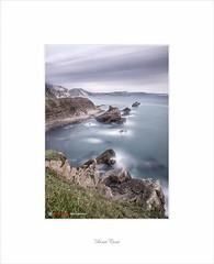Dorset (Scott Howse) Tags: uk england dorset coast cliffs rocks sea water ocean sky cloud cloudy landscape seascape grass longexposure nikon d800e nikkor 1635mmf4 leefilters nd30