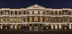Paris (Yann OG) Tags: paris parisien parisian france french franais louvre muse museum nightshot monument panorama panoramique panoramic courcarre sigma30mm bluehour heurebleue