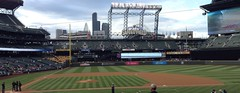 Safeco Field home to the Seattle Mariners, Steven van Vooght BCIT (stevenvanvooght) Tags: safecofield seattlemariners torontobluejays stevenvanvooght broadcastingjournalism