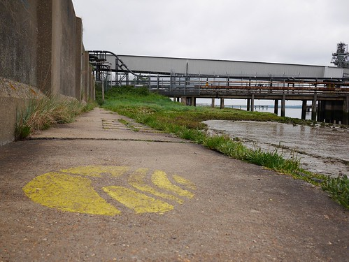 Thames Estuary Path at Tilbury Power Station