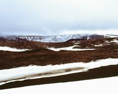 Icy tundra (danielfoster437) Tags: arktis e6 eis kälte wintereis arctic coldweather dewinter ice koude mamiya7 mediumformat noordpool svalbard winter wintercold winterijs
