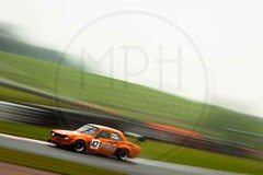 Piers Grange - Ford Escort Mk1 (MPH94) Tags: oulton park cheshire north west motorsport motor sport race racing motorracing auto car cars october photography canon 500d cscc classic sports club special saloons modsports piers grange ford escort mk1