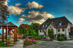 Rathaus Feilitzsch (GerWi) Tags: rathaus haus house outdoor himmel sky landschaft landscape feilitzsch architektur gebude