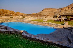 20160831 014 Canon Village Fish River (scottdm) Tags: 2016 africa august canyonvillage fishrivercanyon gondwanacollection hotel intrepid namibia swimmingpool tour travel trip karasregion na
