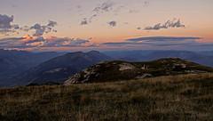 Sunset on the Trentino mountains (ab.130722jvkz) Tags: italy trentino alps easternalps mountains sunset