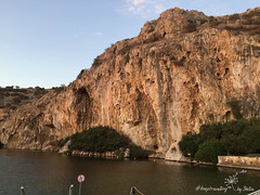 IMG_7422 (by_Stella) Tags: athens greece travel travelling traveling keeptravelling enjoy world europe athena lake hobby love vouliagmeni swim swimming cat ninelives kitty streetcat cats food foodie greekfood greek summer summernight