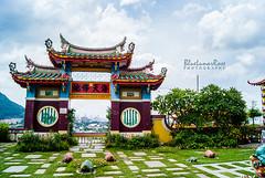 Kek Lok Si Temple (2) (BlueLunarRose) Tags: kekloksitemple temple sky nature architecture building sonyalphadslra200 sal1855 bluelunarrose