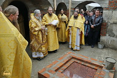 99. The Laying of the Foundation Stone of the Church of Saints Cyril and Methodius / Закладка храма святых Мефодия и Кирилла 09.10.2016