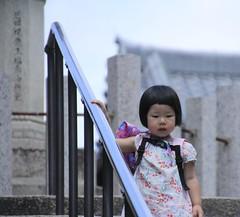 Japanese girl (jonkermichel88) Tags: girl japan japanese meisje kind haar kapsel trap nara haircut asia azi