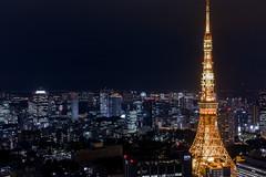 Tokyo Tower (takanorimutoh) Tags: tokyo tokyotower hdr dp2merrill