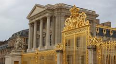 Golden Gates (big_jeff_leo) Tags: paris louis versailles palace architecture gold heritage building statelyhome historic art ceiling fresco imperial unesco hallofmirrors french royal