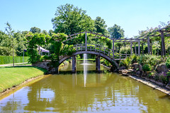 View from the terrace. (CAscotPhotography) Tags: cascotphotography landscape lake garden bridge fountain water summer greatfosters greatfostershotel egham surrey nikon d7100