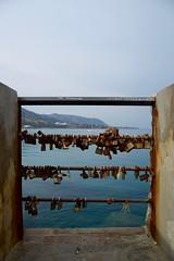 (Giramund) Tags: sicily italy cefal sea boat lovelocks