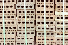 21110025 (alexdotbarber) Tags: 160 35mm kodakgold100 nikon50mmf14 nikonf slr bricks colornegative construction f4 unmeteredprism