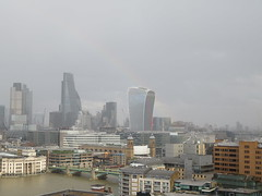 UK - London - Bankside - Tate Modern - Switch House - View over City of London from roof terrace (JulesFoto) Tags: uk england london bankside tatemodern switchhouse londonskyline cityoflondon