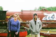 (norma penner) Tags: lake superior provincial park camping portaging pentaxk1000 family insanity grind beautiful nature forest woods canoeing faris penner bonnevie graham sophie holly laura rachel colum erin jeff survival